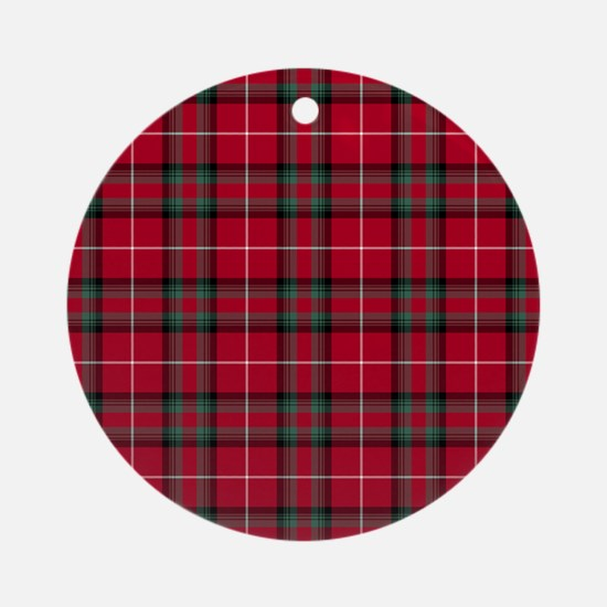 Tartan - Stuart of Bute Ornament (Round)