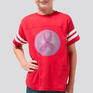 BCGemRibbonTRc Youth Football Shirt