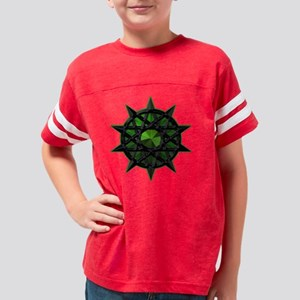 GreenTribalBalancePents Youth Football Shirt