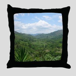 Nicoya Jungle Costa Rica Throw Pillow