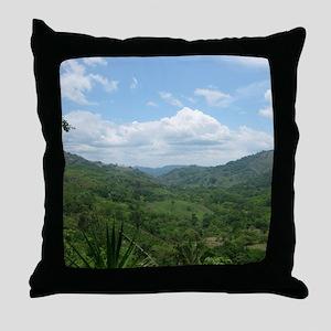 Nicoya Jungle Costa Rica No. 3  Throw Pillow