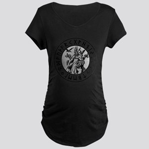 Odin Rune Shield Maternity T-Shirt