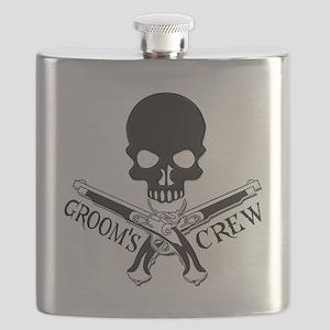 Pirate Groom's Crew Flask