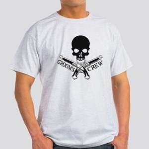 Pirate Groom's Crew Light T-Shirt