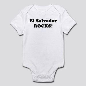 El Salvador Rocks! Infant Bodysuit