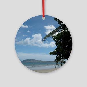 Tamarindo Beach Costa Rica Round Ornament