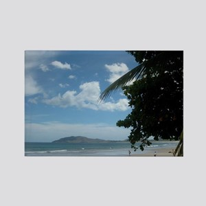 Tamarindo Beach Costa Rica Rectangle Magnet