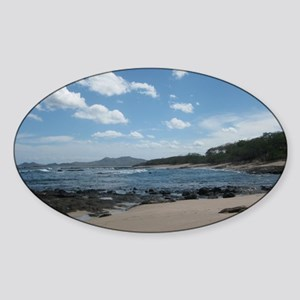 Tamarindo Beach Costa Rica Sticker (Oval)