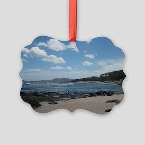 Tamarindo Beach Costa Rica Picture Ornament