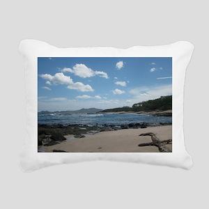 Tamarindo Beach Costa Ri Rectangular Canvas Pillow