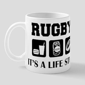Food Beer Rugby Mug