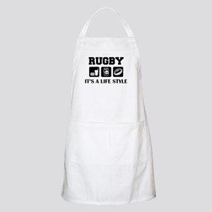 Food Beer Rugby BBQ Apron