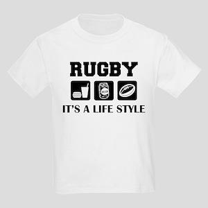 Food Beer Rugby Kids T-Shirt