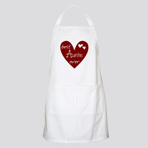 Red Heart Best Auntie Ever Apron