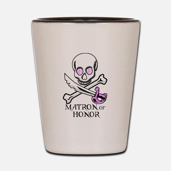 Pirate Matron of Honor Shot Glass
