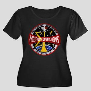 MSC: Mission Control Women's Plus Size Scoop Neck
