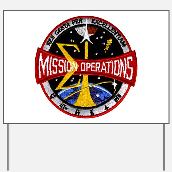 MSC: Mission Control Yard Sign