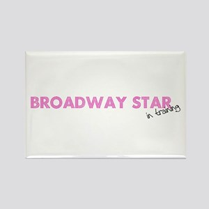Broadway Star In Training Rectangle Magnet