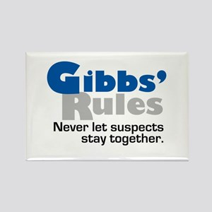Gibbs Rule Suspects Rectangle Magnet