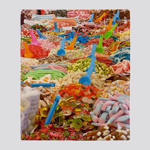 Candy!Candy!Candy! Throw Blanket