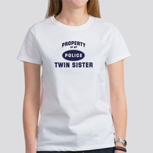 Police Property: TWIN SISTER Women's T-Shirt