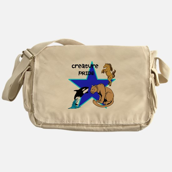 Creature PRIDE Messenger Bag