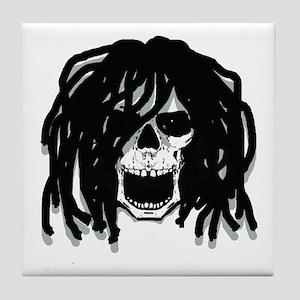 Dread head Tile Coaster