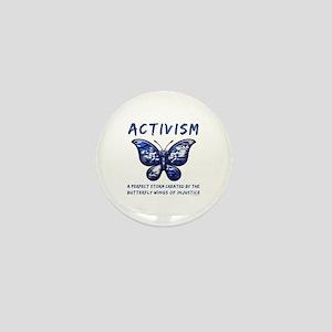 Activism Mini Button