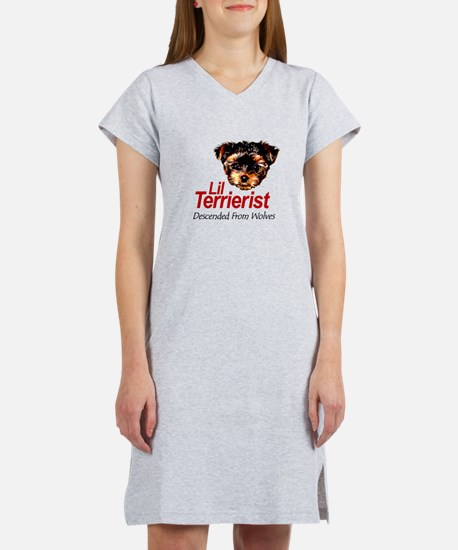 Descended from Wolves Women's Nightshirt