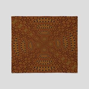 Aboriginal Moons Throw Blanket