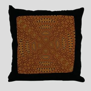 Aboriginal Moons Throw Pillow