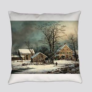 Winter in the country - a cold morning - 1863 Ever