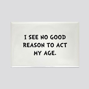 Act Age Rectangle Magnet (10 pack)