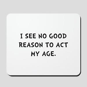 Act Age Mousepad