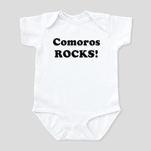 Comoros Rocks! Infant Bodysuit