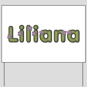 Liliana Spring Green Yard Sign
