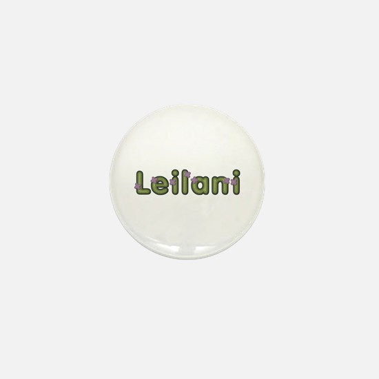 Leilani Spring Green Mini Button