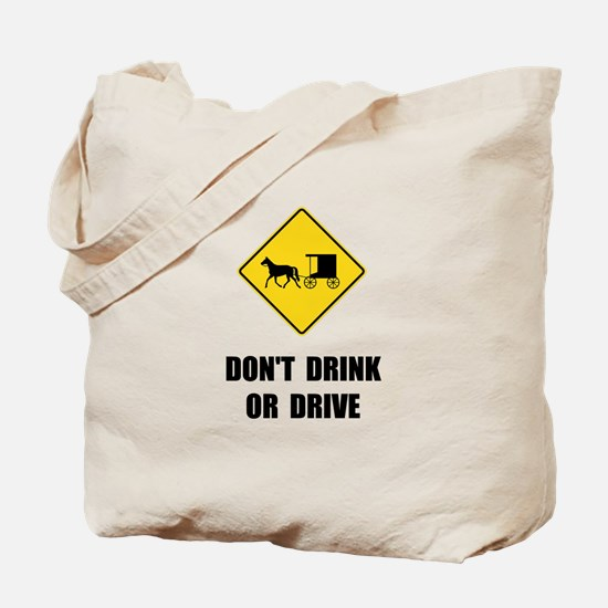Amish Drink Drive Tote Bag
