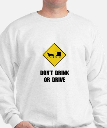 Amish Drink Drive Sweatshirt