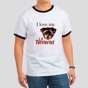 Love My Lil Terrierist Ringer T