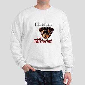 Love My Lil Terrierist Sweatshirt