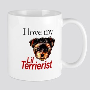 Love My Lil Terrierist Mug