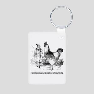 Chicken Wrangler Keychains