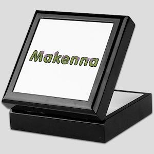 Makenna Spring Green Keepsake Box