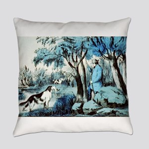 Water rail shooting - 1855 Everyday Pillow