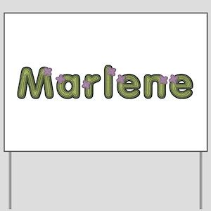 Marlene Spring Green Yard Sign