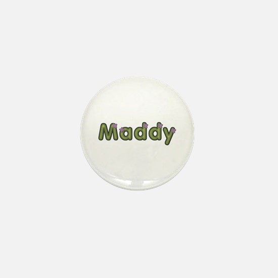 Maddy Spring Green Mini Button