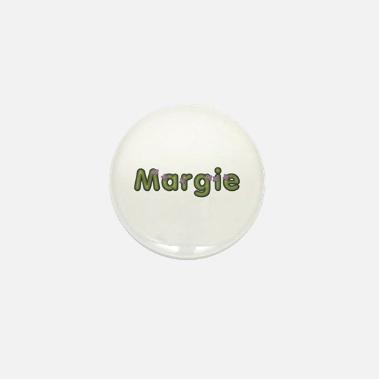 Margie Spring Green Mini Button