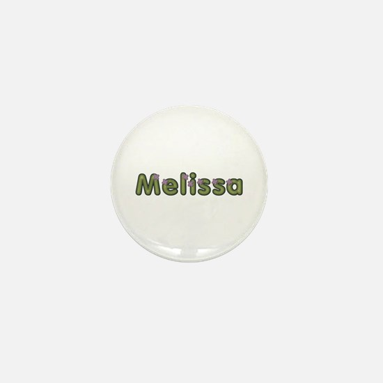 Melissa Spring Green Mini Button
