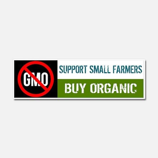 No GMO - Buy Organic car magnet